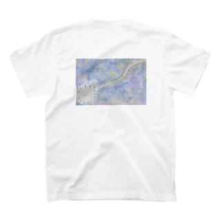 星空とケセランパサランとたんぽぽくん T-shirts