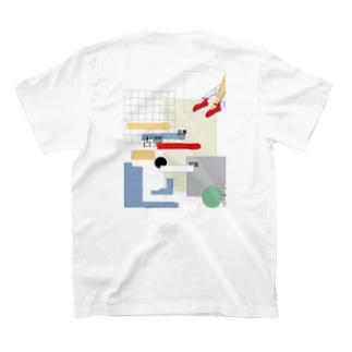 プールサイドTシャツ T-shirts