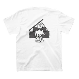 名言ロゴT(ピアノ) T-shirts