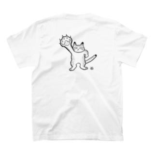 mikepunchのニクキュウ! T-shirtsの裏面