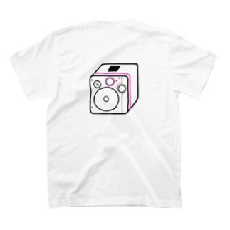 僕が着たいTシャツ屋さんの思い出のダイナモラジオ ピンク T-shirts