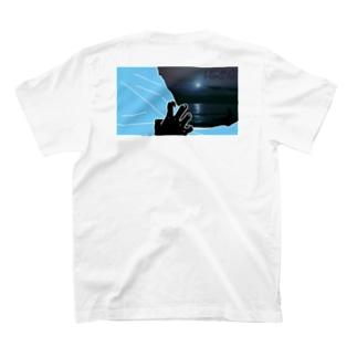 Curtain Ocean T-shirts
