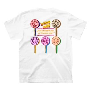キャンディー風イラスト T-shirts