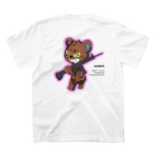 FPS  gamer くまさん T-shirts