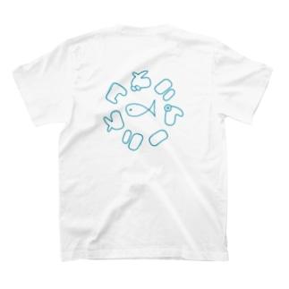 バックプリントロゴTシャツ T-shirts