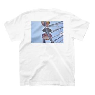 Ferris wheel (Back Print) T-shirts