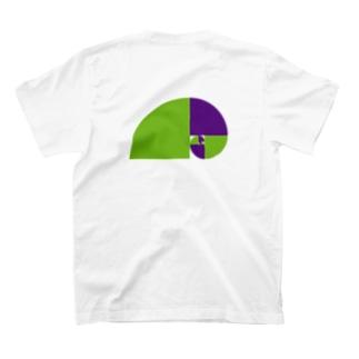 毒毒フィボナッチくん T-shirts