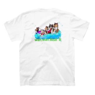 わんわん ボート Ⅲ T-shirts