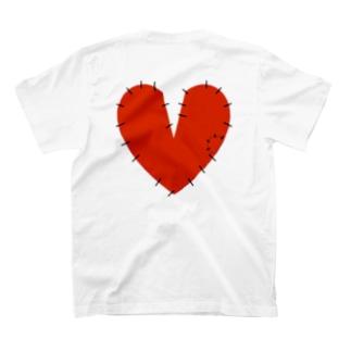 破れたハート T-shirts