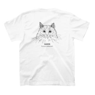 NORNさんバックプリント T-shirts