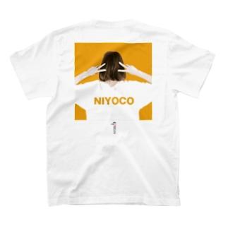 NIYOCO×IMALAB(B02-WHITE) T-shirts