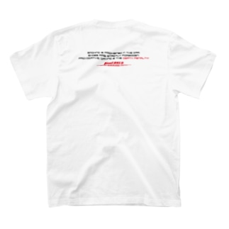 fineEARLS/ファインアールのsspdeth1 T-shirtsの裏面