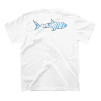 DGPGのBlue shark T-shirts