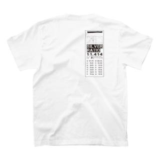 白銀比デザイン T-shirts