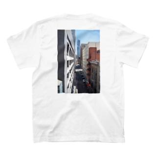 サンフランシスコの路地 T-shirts
