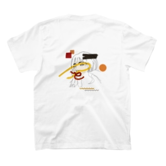 ennui [バックプリント] T-shirts