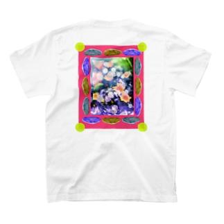 花と石ユーフォー T-shirts