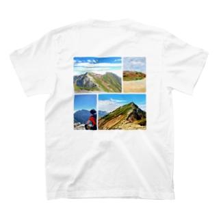 唐松岳Tシャツ T-shirts