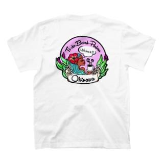 南の島沖縄のTi-da Beach/ティーダビーチ T-shirts