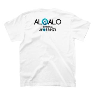 ALOALO(前背面) T-shirts