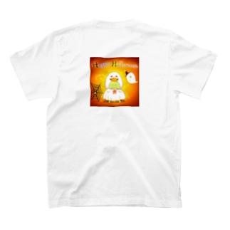 《ハロウィン07》*かめくんおばけ* T-shirts