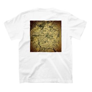 ラクガキスト ロンT T-shirts