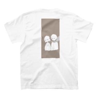 喫煙所のふたり T-shirts