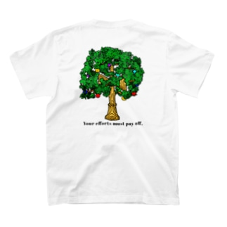 Kendamawood (背デザイン) T-shirts