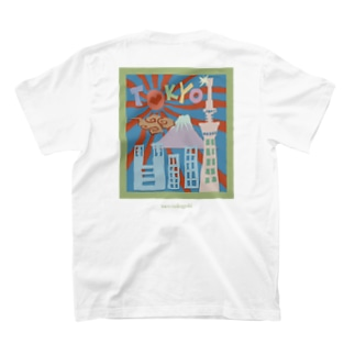 The city of Tokyo  T-shirts