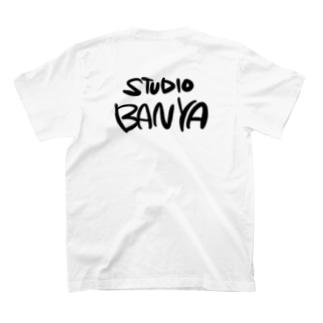 スタジオばんや バックプリント T-shirts