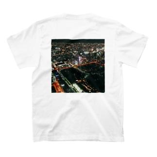 大阪の夜景 T-shirts