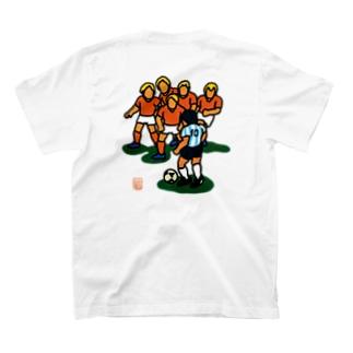 永遠の10番 (背面プリント) T-shirts