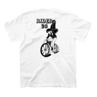 rider28 #2 (black ink) T-shirts