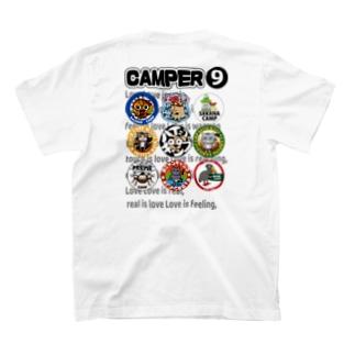 キャンパー9白専用ET T-shirts