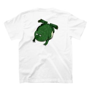 (後)すいすいバジェットガエルTシャツ T-shirts