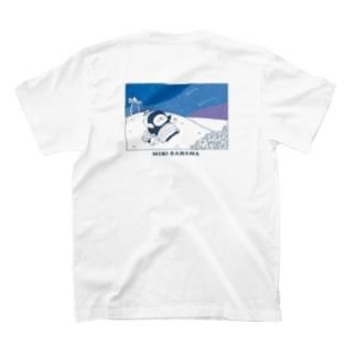 MINI BANANA 夜空ゴリラ T-shirts