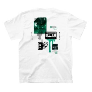 カセットテープ(両面/薄色用) T-shirts