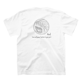 アウトラインロゴ T-shirts