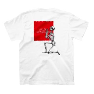 SAUNA STANDARD【skeleton(整)】 T-shirts