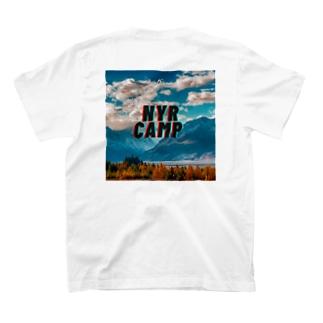 NYR CAMPバックプリントT T-shirts
