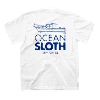 OCEAN SLOTH ロゴ&ボート T-shirts