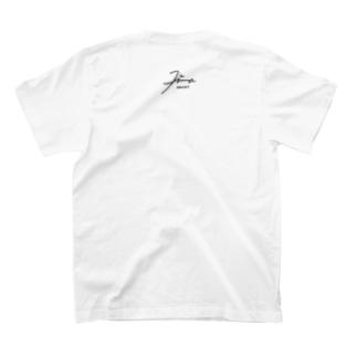 暇ひまお絵描き デザインサイン T-shirts