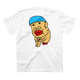 水泳帽うんちのレンくん T-shirts