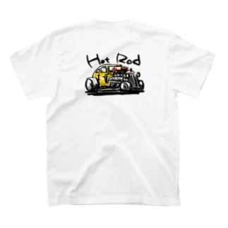 studiobanya hotrod  両面 T-shirts