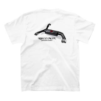 ゲロゲロマフラー バックプリント T-Shirt
