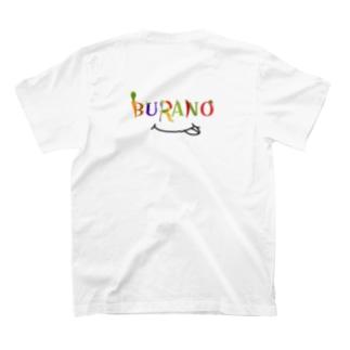 BURANO ロゴシリーズ(黒) T-shirts