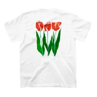 チューリップ_red ~ 2021 ~ T-shirts