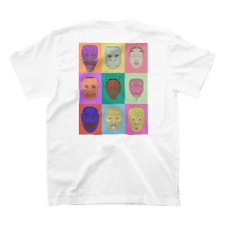 noh mask T-shirts