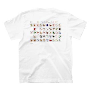 あいうえおポスター T-shirts