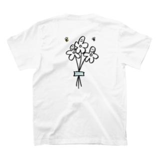 BOREDAMN_flower T-shirts